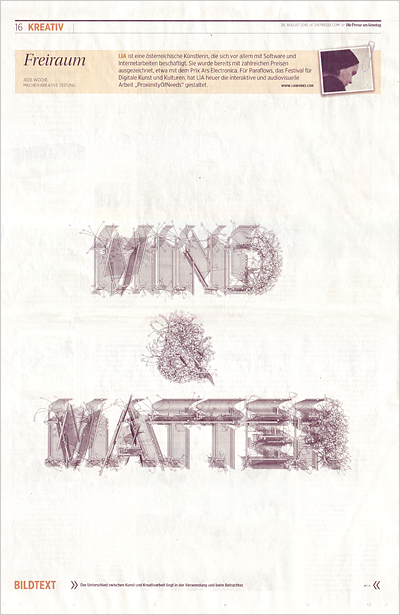 2010_08_29_Freiraum_diePresse_ Mind_And_Matter